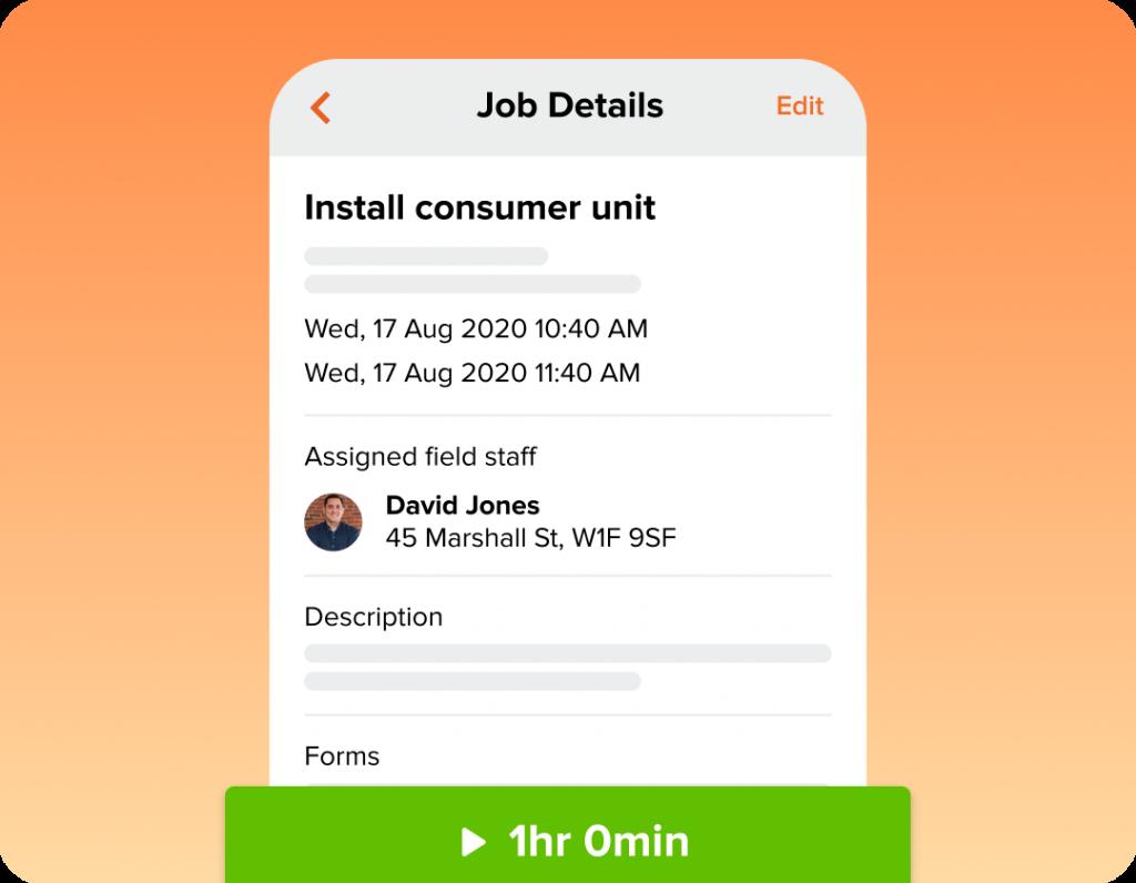 Field Service Job Management Software