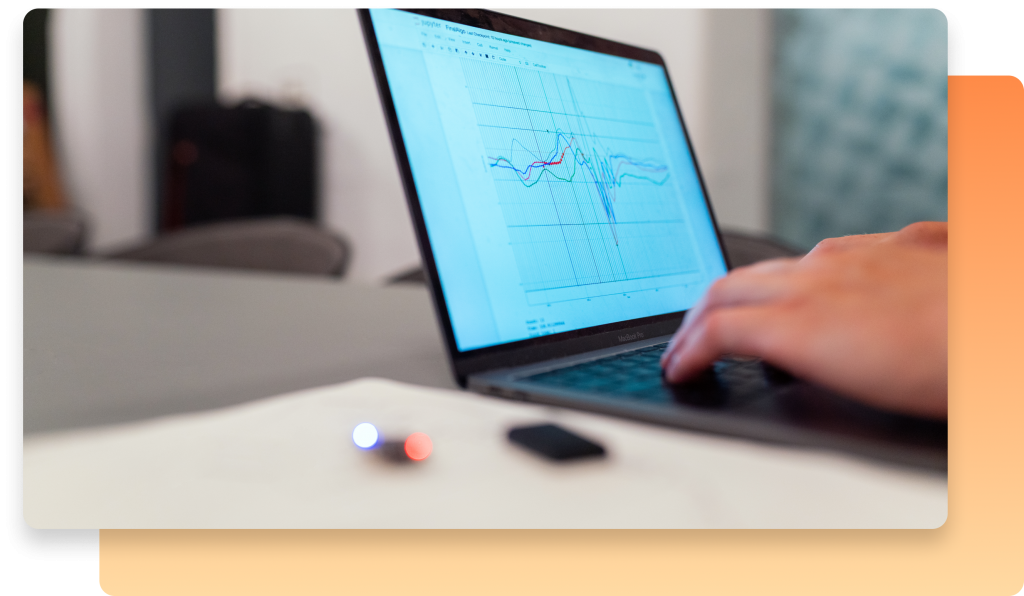 A laptop. How can you track the performance of your your field service management business over time?